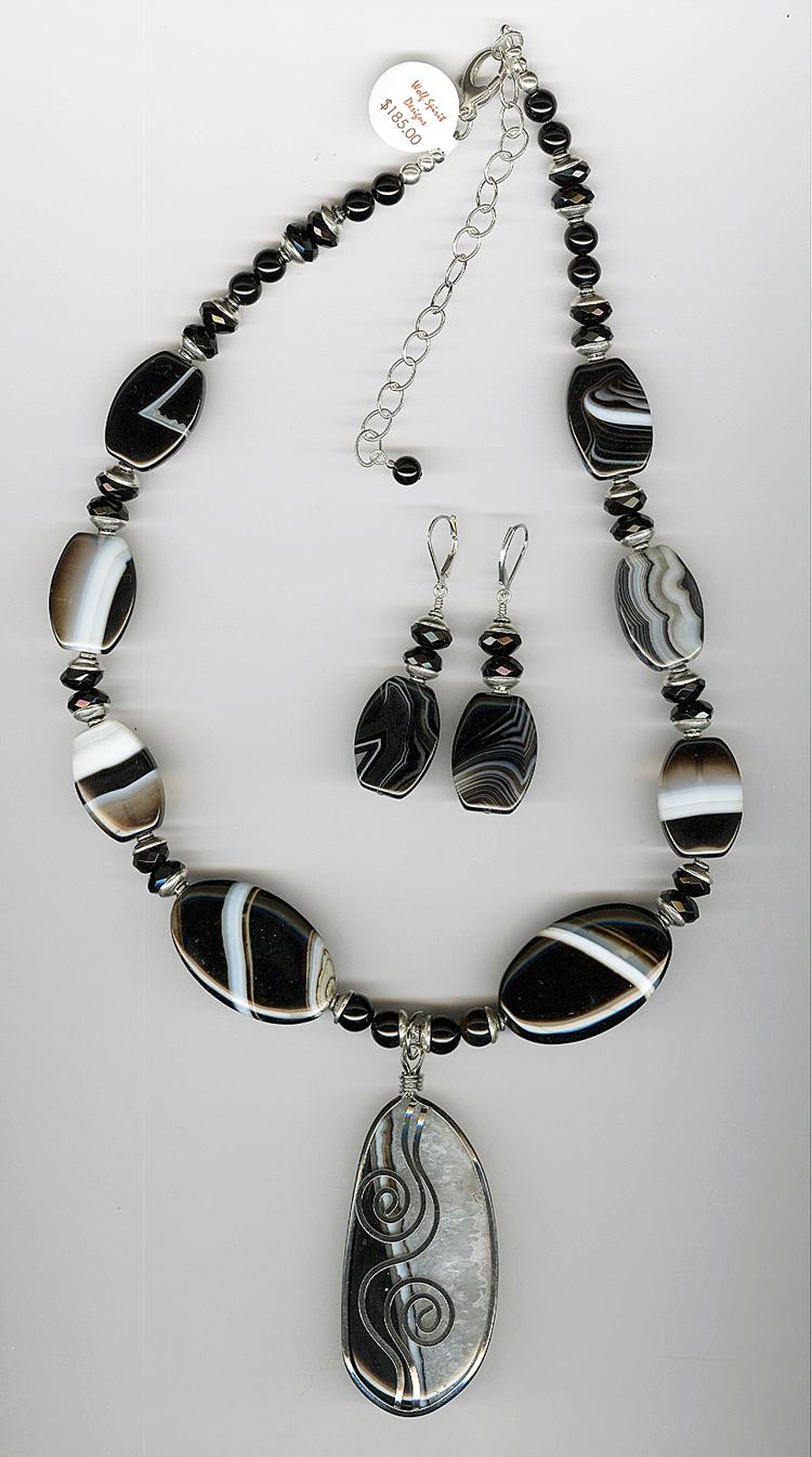 Black Sardonyx Necklace